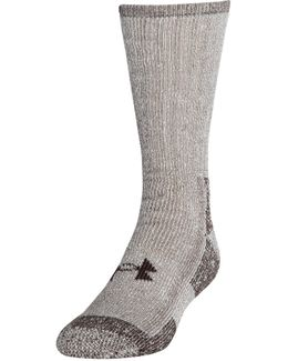 Men's Ua Charged Wool Boot Socks 2-pack