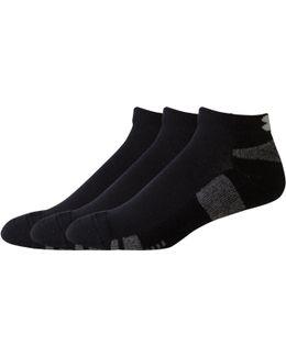 Men's Ua Heatgear® Low Cut Socks 3-pack