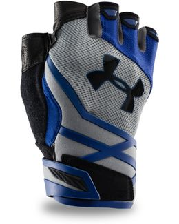 Men's Ua Resistor Half-finger Training Gloves