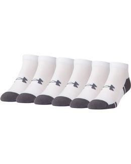 Men's Ua Resistor Iii Lo Cut Socks 6-pack