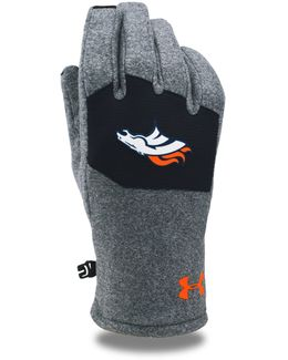 Men's Nfl Combine Authentic Ua Coldgear® Infrared Fleece Gloves