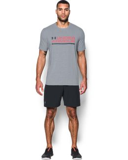 Men's Ua Wordmark Lockup T-shirt
