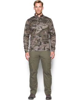 Men's Ua Franchise Camo 1⁄4 Zip