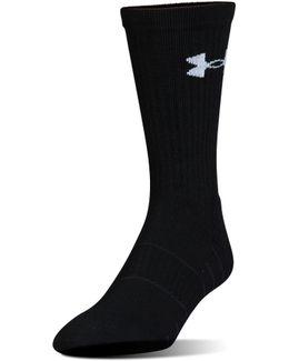 Men's Ua Golf Elevated Performance Crew Socks
