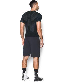 Men's Heatgear® Supervent Armour Football Short Sleeve Shirt