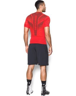 Men's Heatgear® Supervent Armour Football Short Sleeve Shirt