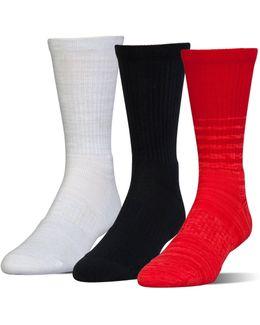 Ua Phenom Twisted Crew Socks – 3-pack