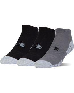 Ua Heatgear® Tech No Show Socks 3-pack