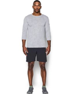 Men's Ua Threadborne 3⁄4 Utility T-shirt
