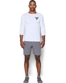 Men's Ua Threadborne 3⁄4 Utility T-shirt