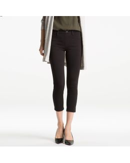 Women Cropped Leggings Pants