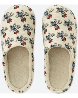 Mickey Travels Room Shoes