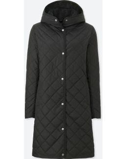 Women Pile-lined Fleece Long-sleeve Coat