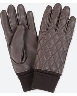 Women Quilted Gloves