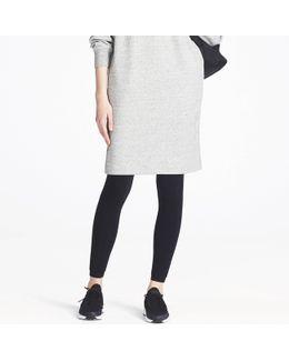 Women Heattech Knitted Faux Shearling Leggings