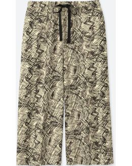 Women Relaco 3/4 Shorts (wide) (geometric)