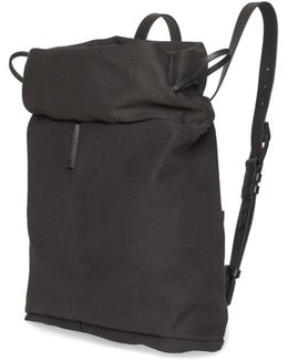 Saar S Waxed Canvas Backpack