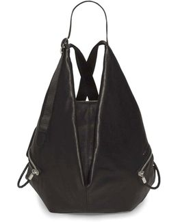 Ganges S Alias Cowhide Leather Backpack