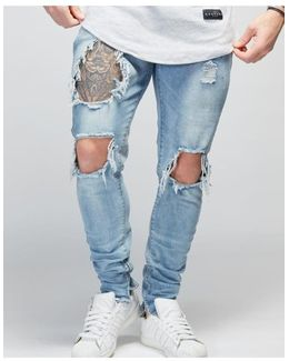 Inkwell Destroyed Denim Jeans