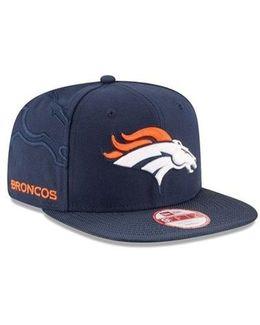 Denver Broncos Sideline Original Fit 9fifty Snapback Cap