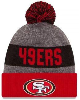 San Francisco 49ers Nfl Sideline Bobble Hat