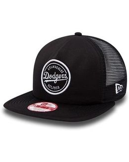 La Dodgers Emblem Mesh Original Fit 9fifty Snapback Cap