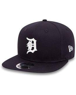 Detroit Tigers Rubber Badge Original Fit 9fifty Snapback Cap
