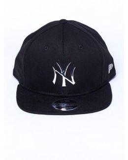 Ny Yankees Silver Metal Badge Original Fit 9fifty Snapback Cap