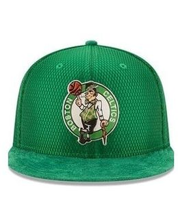 Boston Celtics 2017 On-court 9fifty Cap