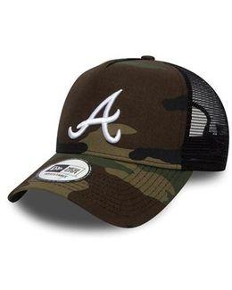 Atlanta Braves Essential A Frame Trucker Cap