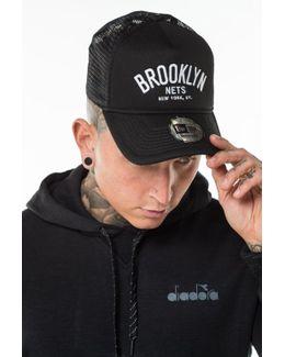 Brooklyn Nets Chain Stitch Trucker Cap