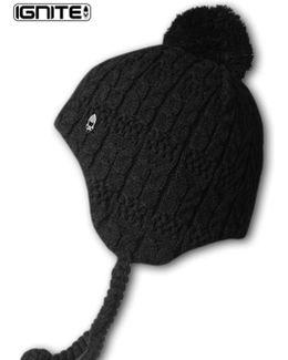 Ignite Ritzy Peru Peruvian Beanie Hat