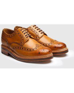 Archie Big Punch Brogue Shoes