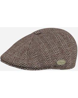 507 Herringbone Flat Cap