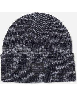 Mixed Yarn Beanie Hat