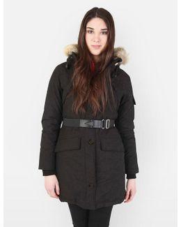 Womens Hoosac Faux Fur Hooded Parka