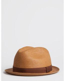Bailey Wicket Straw Triby Hat