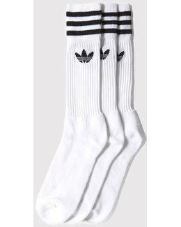 Adidas Solid Crew Socks