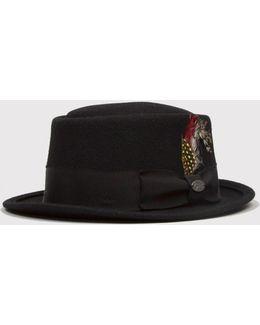 Bailey Arvid Pork Pie Hat