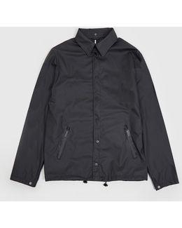 X Oi Polloi Waterproof Coach Jacket