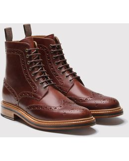 Fred Brogue Boot