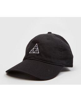Triple Triangle Curved Peak Cap