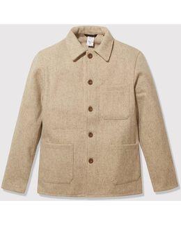 Burel Wool Work Jacket