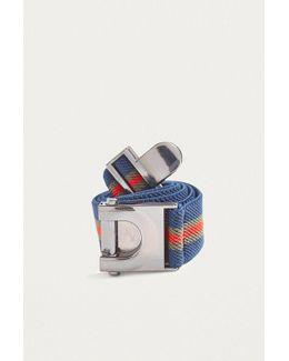 Striped Clasp Belt