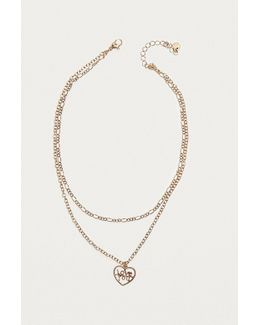 Overstated Romance Layering Chain Necklace