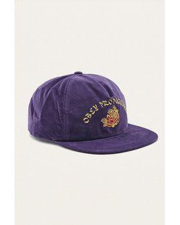 Takeout Purple Snapback Cap