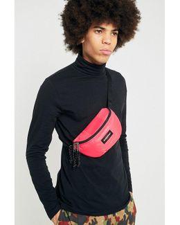 Springer Pink Rubber Cross Body Bag