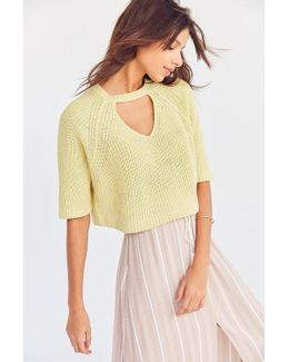 Maddie Cutout Cropped Sweater