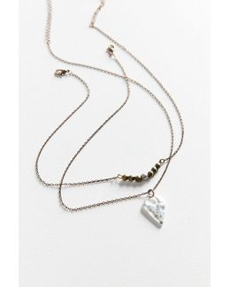 Sage Layering Necklace Set