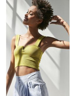 Notched Wire Tank Top